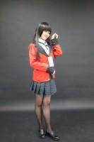 『acosta!(アコスタ)@大阪南港ATC SUPER!』コスプレイヤー・にゃにゃにゃさん<br>(『賭ケグルイ』蛇喰夢子)