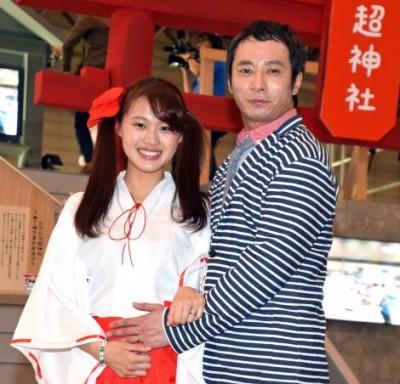 いしだ壱成&飯村貴子 飯村のおなかには赤ちゃんが