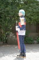 『COSSAN at 高田馬場,東京富士大学』コスプレイヤー・ゆーらちかさん<br>(『刀剣乱舞』一期一振)
