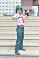 『COSSAN at 高田馬場,東京富士大学』コスプレイヤー・そるとまんさん<br>(『僕のヒーローアカデミア』緑野出久)