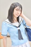『COSSAN at 高田馬場,東京富士大学』コスプレイヤー・るなさん<br>(『バンドリ!ガルパ』奥沢美咲)