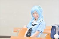 『COSSAN at 高田馬場,東京富士大学』コスプレイヤー・すんさん<br>(『バンドリ!ガルパ』松原花音)