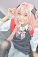 『COSSAN at 高田馬場,東京富士大学』コスプレイヤー・くまのこさん<br>(『Fate/EXTELLA LINK』アストルフォ)