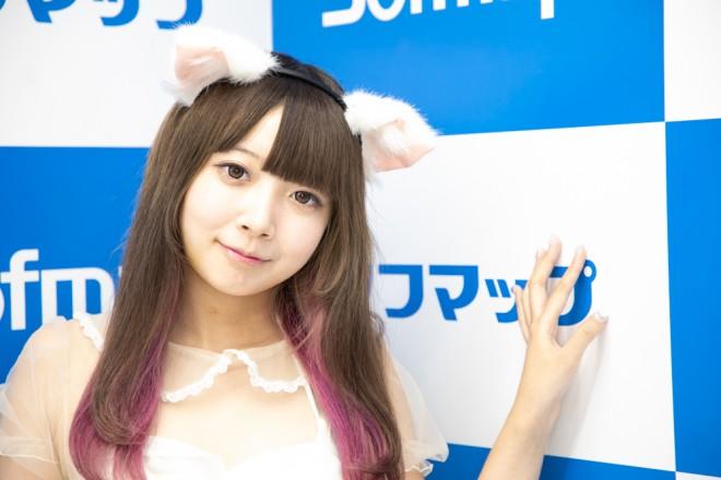 『サンクプロジェクト×ソフマップ』コスプレイヤー・恋するみさきちゃんさん<br>(シースルーにゃんこ)