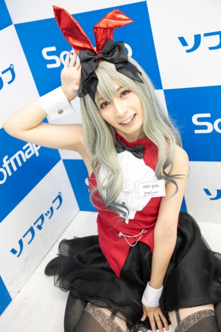 『サンクプロジェクト×ソフマップ』コスプレイヤー・mi-ya.さん<br>(レッドバニーガール)