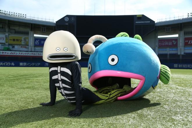 千葉ロッテマリーンズ 新キャラクター「謎の魚」第3形態