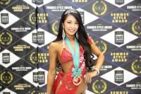 『SUMMER STYLE AWARD JAPAN OPEN』ベティ・プロ部門で優勝した平川瑞希さん