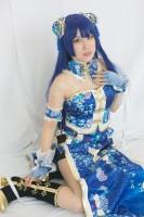 『コスプレ博inTFT 夏スペシャル』コスプレイヤー・パスカルさん<br>(『ラブライブ!』園田海未)