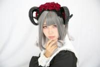『コスプレ博inTFT 夏スペシャル』コスプレイヤー・むむむ。さん<br>(『オリジナル』サタン)