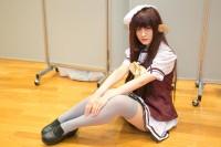 『コスプレ博inTFT 夏スペシャル』コスプレイヤー・ゆなさん<br>(『SHUFFLE!』リシアンサス)