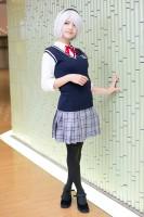 『コスプレ博 in プラザ平成 9月2日開催』コスプレイヤー・メリーさん<br>(『ニーアオートマタ』2B(創作制服))
