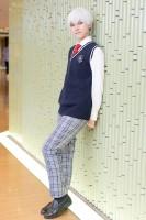 『コスプレ博 in プラザ平成 9月2日開催』コスプレイヤー・にこさん<br>(『ニーアオートマタ』9S(創作制服))