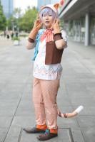 『コスプレ博 in プラザ平成 9月2日開催』コスプレイヤー・杏さん<br>(『A3!』斑鳩三角)