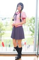 『コスプレ博 in プラザ平成 9月2日開催』コスプレイヤー・みなみ犬さん<br>(『化物語』羽川翼)
