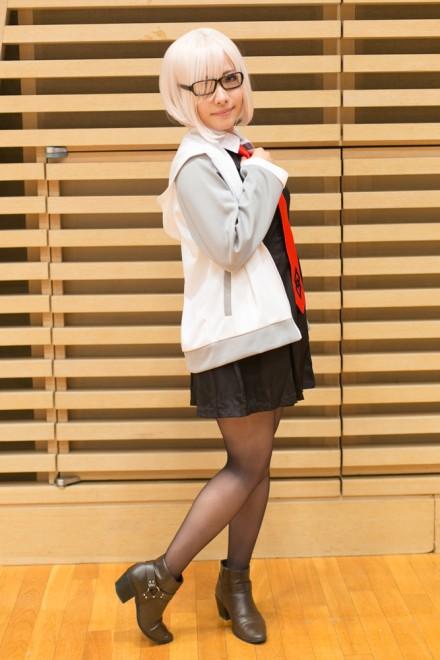 『コスプレ博inTFT 夏スペシャル』コスプレイヤー・さくやさん<br>(『Fate/Grand Order』マシュ・キリエライト)