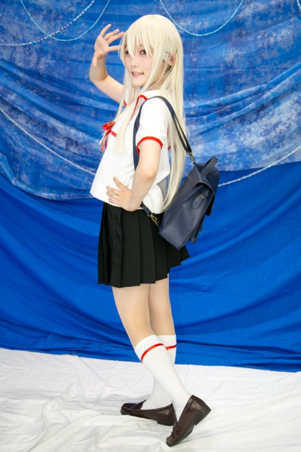 『コスプレ博inTFT 夏スペシャル』コスプレイヤー・こめこさん<br>(『Fate プリズマ☆イリヤ』イリヤスフィール・フォン・アインツベルン)