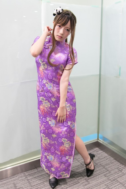 『コスプレ博inTFT 夏スペシャル』コスプレイヤー・サクさん<br>(『オリジナル』チャイナ)