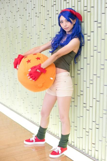 『コスプレ博 in プラザ平成 9月2日開催』コスプレイヤー・にわこ。さん<br>(『ドラゴンボール』ランチ)