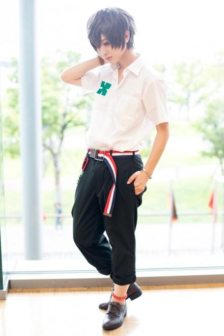 『コスプレ博 in プラザ平成 9月2日開催』コスプレイヤー・かおるろさん<br>(『残響のテロル』ツエルブ)