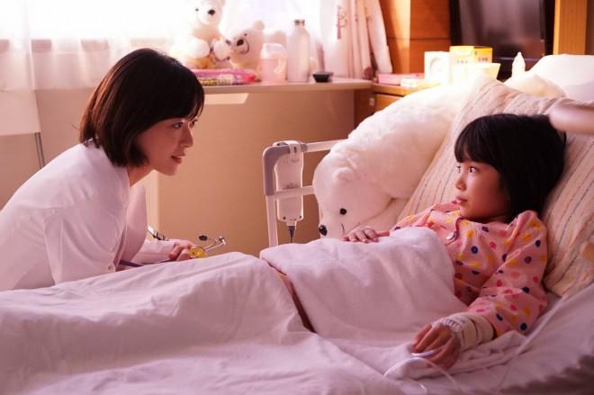 ドラマ『グッド・ドクター』第3話 小児外科医の瀬戸夏美(上野樹里)