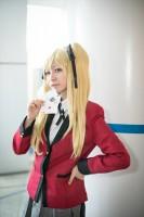 『世界コスプレサミット2018』コスプレイヤー・悠(はる)さん<br>(『賭ケグルイ』早乙女芽亜里)