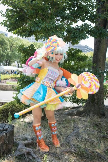 『世界コスプレサミット2018』コスプレイヤー・DAYさん<br>(『キャンディー擬人化(オリジナル)』ペロキャン)