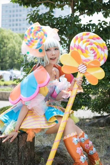 『キャンディー擬人化(オリジナル)』ペロキャン(DAYさん)
