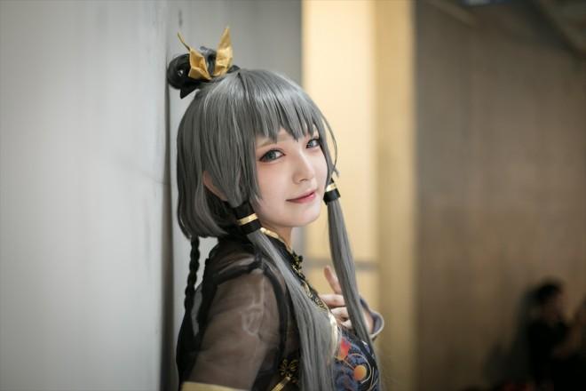 『世界コスプレサミット2018』コスプレイヤー・MAROさん<br>(『中国ボーカロイド』洛天依)