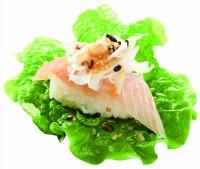 くら寿司の新メニュー『キヌアサラダ手巻き ビントロ』