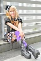 『acosta!(アコスタ)@さいたまスーパーアリーナTOIRO』コスプレイヤー・わらびさん<br>(『ツキウタ。』伊地崎麗奈)