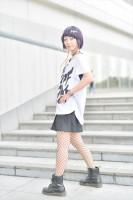 『acosta!(アコスタ)@さいたまスーパーアリーナTOIRO』コスプレイヤー・晴田さん<br>(『僕のヒーローアカデミア』耳郎響香)
