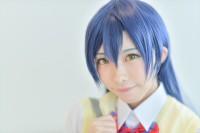 『acosta!(アコスタ)@さいたまスーパーアリーナTOIRO』コスプレイヤー・ょンさん<br>(『ラブライブ!』園田海未)