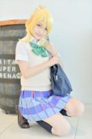 『acosta!(アコスタ)@さいたまスーパーアリーナTOIRO』コスプレイヤー・なつさん<br>(『ラブライブ!』絢瀬絵里)