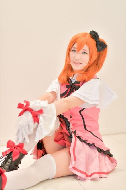 『acosta!(アコスタ)@さいたまスーパーアリーナTOIRO』コスプレイヤー・あやタさん<br>(『ラブライブ!』矢澤にこ)
