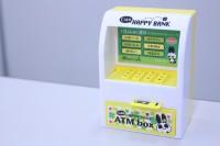 """なんと電池を使っていない """"ATM型貯金箱"""""""