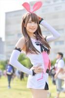 『コミケ94(C94)』コスプレイヤー・綾音さん<br>(『バーチャルYouTuber』キズナアイ)