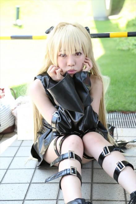 『コミケ94(C94)』コスプレイヤー・稲吉 唯さん<br>(『ToLOVEる』金色の闇)