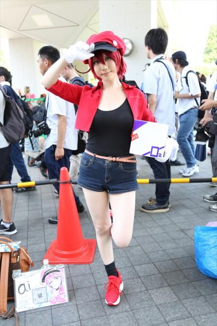 『コミケ94(C94)』コスプレイヤー・aiさん<br>(『はたらく細胞』赤血球)