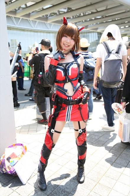 『コミケ94(C94)』コスプレイヤー・ゆきさん<br>(『アイドルマスターシンデレラガールズ』前川みく)