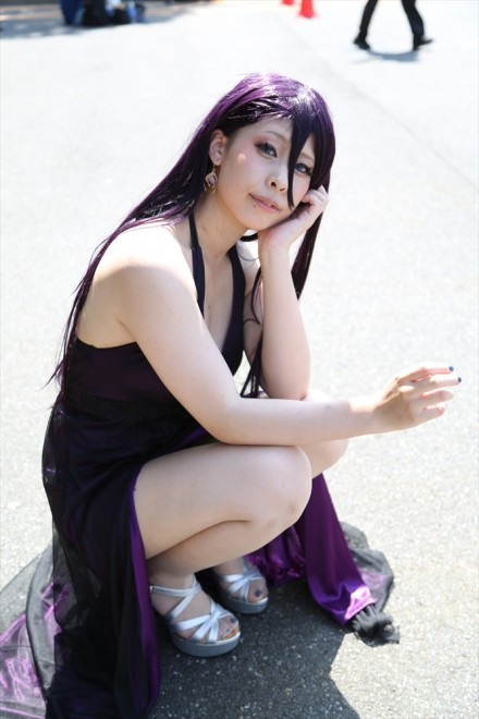『コミケ94(C94)』コスプレイヤー・桜丘 誠さん<br>(『シノアリス』かぐや姫(現実編))