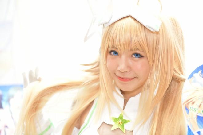『コミケ94(C94)』コスプレイヤー・美環さん<br>(『宿星のガールフレンド』上泉夕里)