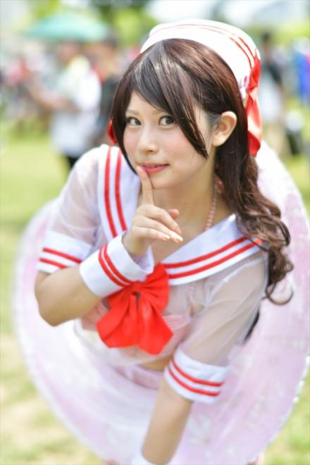 『コミケ94(C94)』コスプレイヤー・桜さん<br>(『アイドルマスターシンデレラガールズ』島村卯月)