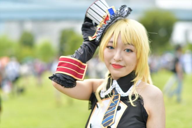 『コミケ94(C94)』コスプレイヤー・夏未さん<br>(『ラブライブ!』絢瀬絵里)