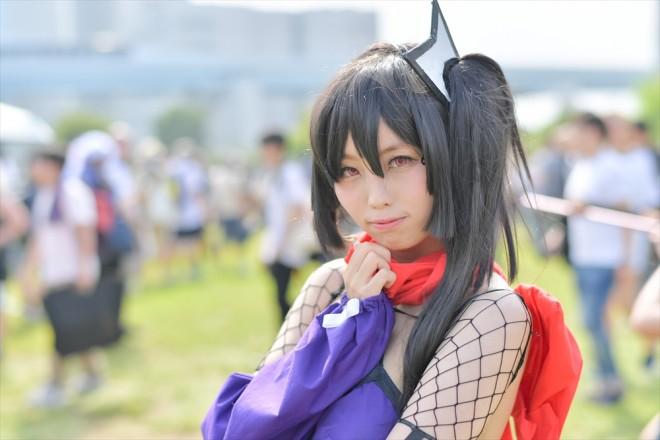『コミケ94(C94)』コスプレイヤー・桜花さん<br>(『魔法少女育成計画』リップル)