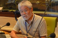『夏休み子ども科学電話相談』(NHKラジオ第1ほか)に出演の昆虫専門・久留飛克明先生