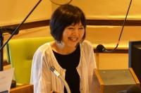 『夏休み子ども科学電話相談』(NHKラジオ第1ほか)に出演のMC・山田敦子アナウンサー