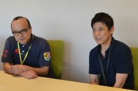 『夏休み子ども科学電話相談』(左から)チーフディレクター・柴文彦氏、チーフプロデューサー・大野克郎氏