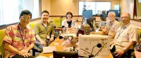 『夏休み子ども科学電話相談』(NHKラジオ第1ほか)貴重な先生たちの集合ショット
