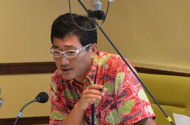 『夏休み子ども科学電話相談』(NHKラジオ第1ほか)に出演の鳥専門・川上和人先生