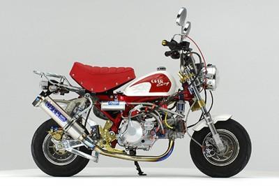 50ccのモンキーのフルカスタム